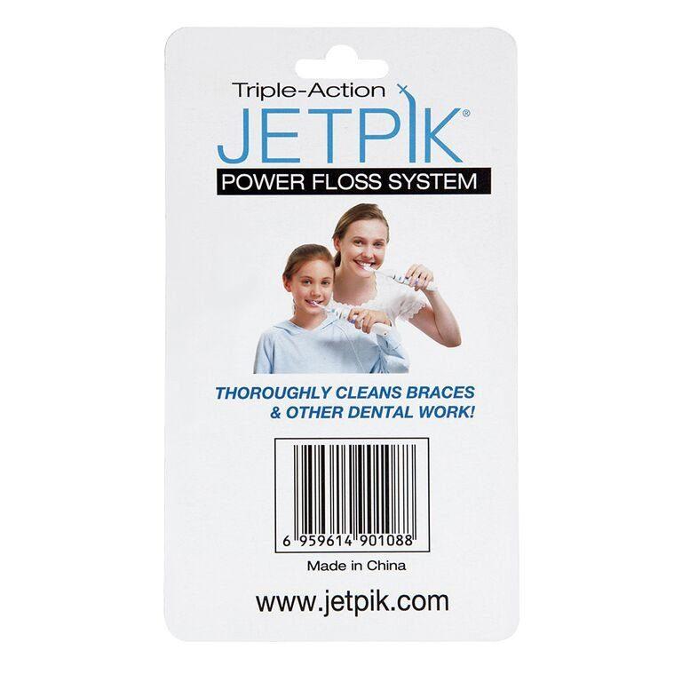 Електрозвукові насадки-щітки Jetpik, 2 шт